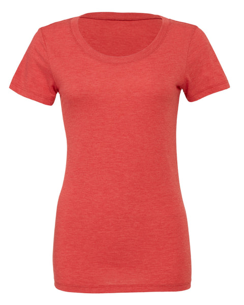 BE8413 Bella Women's Triblend Short Sleeve Tee