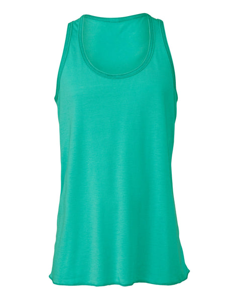 BE8800Y Bella Youth Flowy Racerback Tank