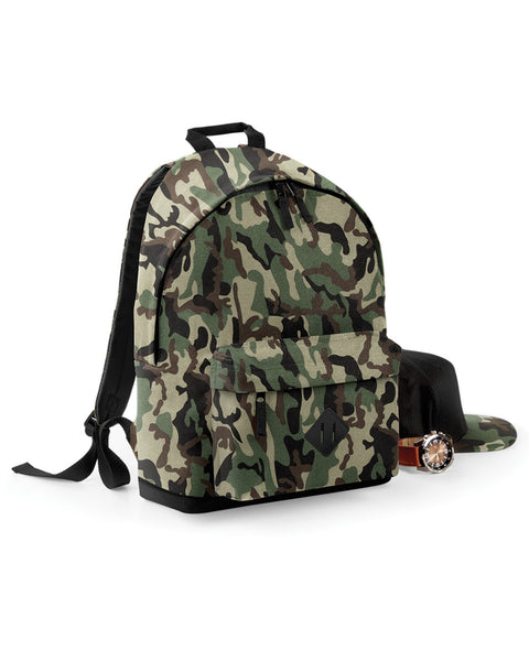 BG175 Bagbase Camo Backpack