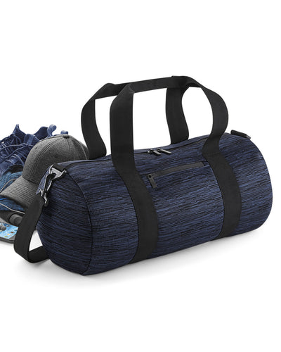 BG196 Bagbase Duo Knit Barrel Bag