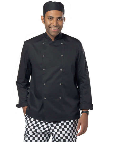 DD08C Dennys Long Sleeve Chef's Jacket