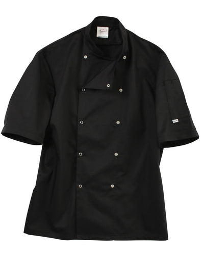 DD08CS Dennys Short Sleeve Chef's Jacket