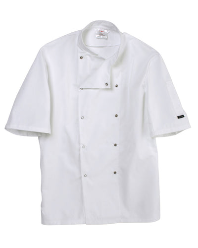 DD08S Dennys Short Sleeve Chef's Jacket