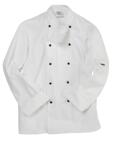 DD20 Dennys Removable Stud Lightweight Long Sleeve Chef's Jacket