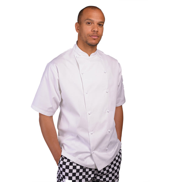 DE92ES Le Chef Executive Short Sleeve Chefs Jacket
