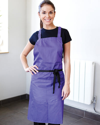 Dennys High Spec Large Bib Apron With Pocket