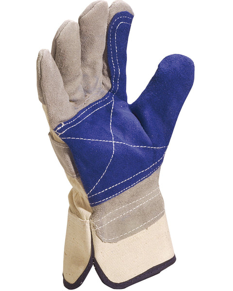 DS202RP Delta Plus Cowhide Split Leather Gloves