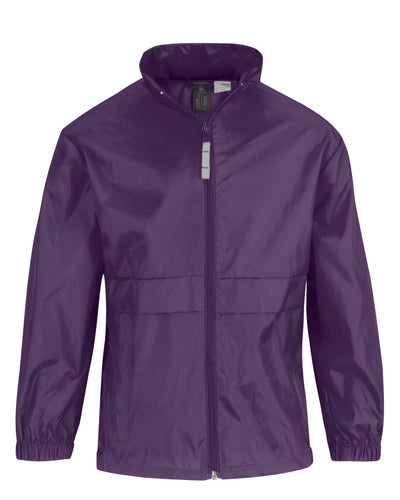 JU800 B&C Mens Sirocco Windcheater Jacket