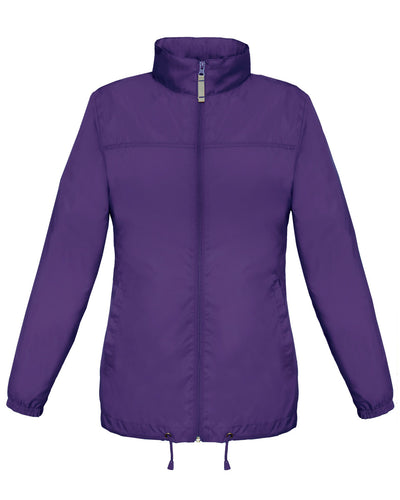 JW902 B&C Women's Sirocco Windbreaker Jacket