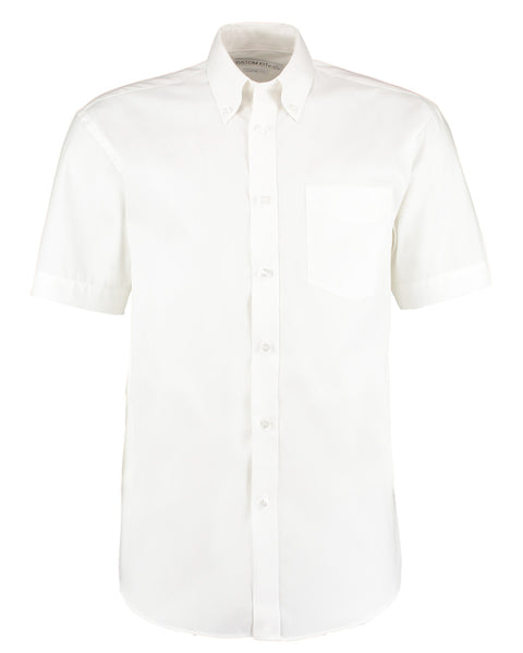 KK109 Kustom Kit Men's Short Sleeve Corporate Oxford Shirt