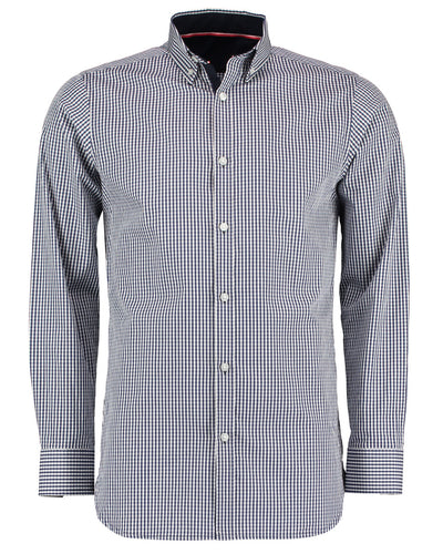 KK136 Clayton & Ford Long Sleeve Gingham Shirt
