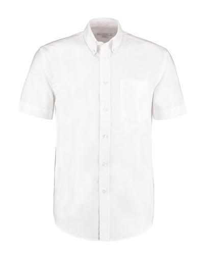 KK350 Kustom Kit Men's Workwear Short Sleeve Oxford Shirt