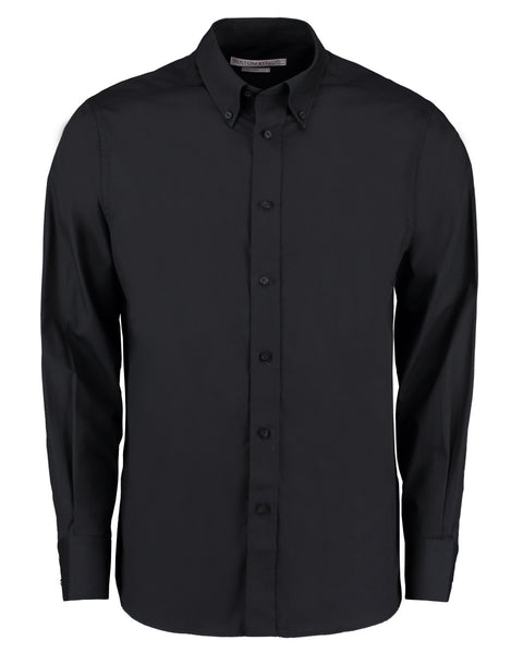 KK386 Kustom Kit Men's City Long Sleeve Business Shirt