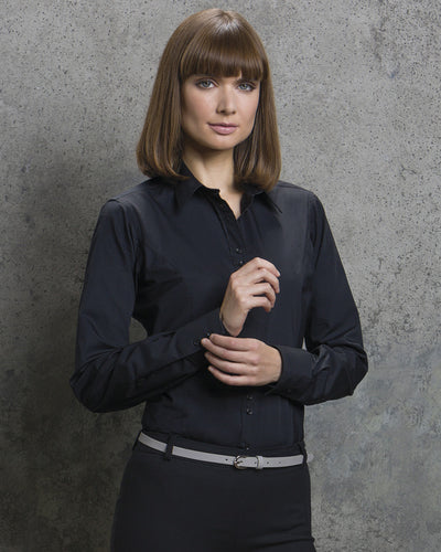 Kustom Kit Ladies' City Long Sleeve Business Shirt