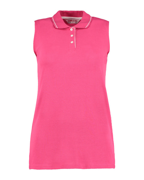 KK730 Gamegear Ladies' Proactive Sleeveless Polo