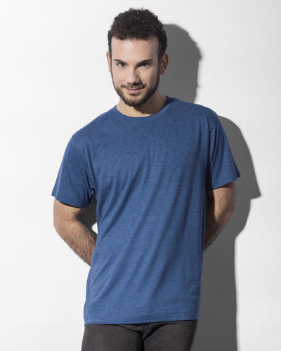 LARRY011 Nakedshirt Larry Triblend Men's Favourite T-Shirt