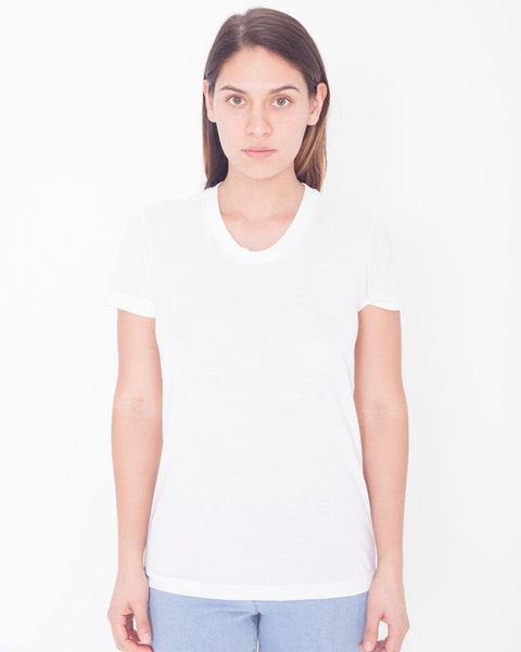 PL301W American Apparel Women's Sublimation Short Sleeve Tee