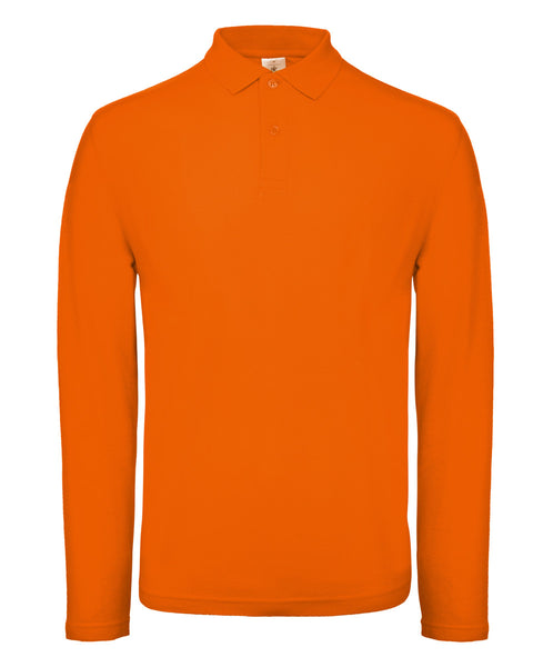 PUI12 B&C ID.001 Men's Long Sleeve Polo