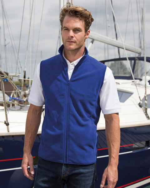 R116X Result Core Microfleece Gilet