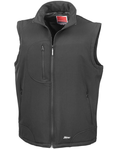 R123X Result Softshell Bodywarmer