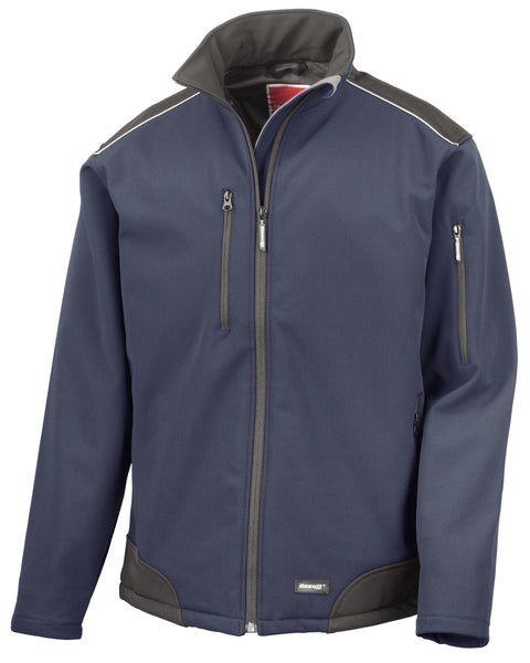 R124X Result Ripstop Workwear Softshell Jacket