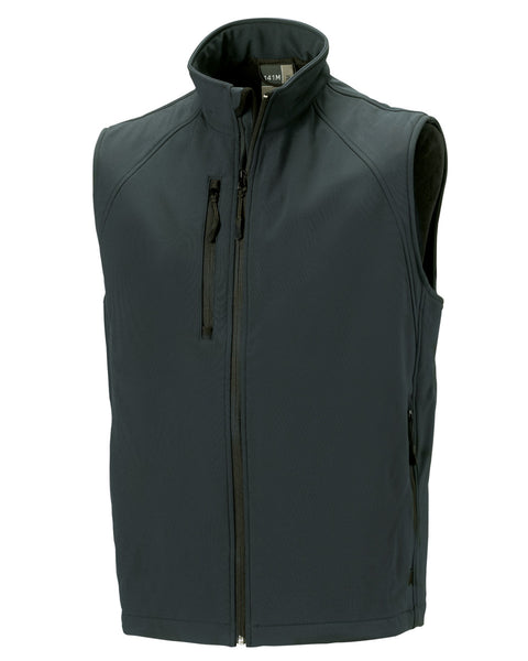 R141M Russell Men's Softshell Gilet