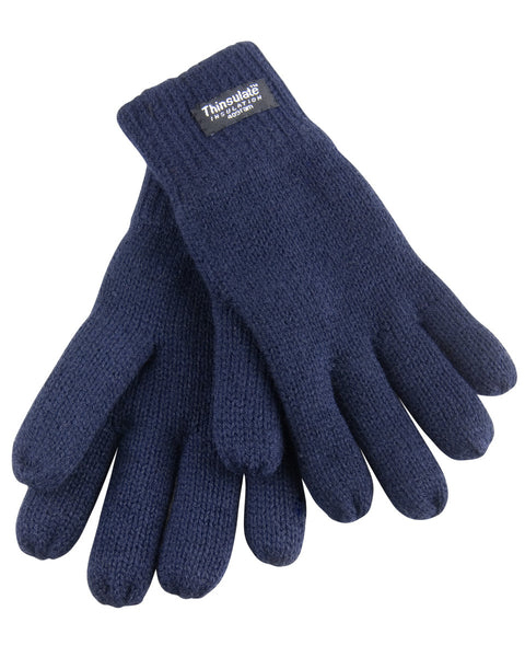 R147J Result Winter Essentials Junior Classic Lined Thinsulate™ Gloves