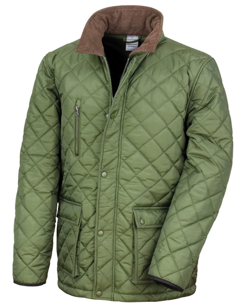 R196X Result Urban Outdoor Wear Cheltenham Gold Jacket