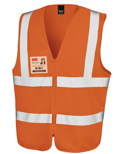 R202X Result Safeguard Zip Safety Tabard