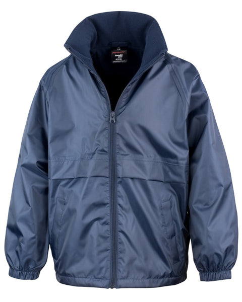 R203JY Result Core Junior Microfleece Lined Jacket