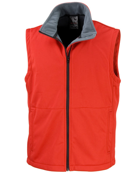 R214X Result Core Softshell Bodywarmer