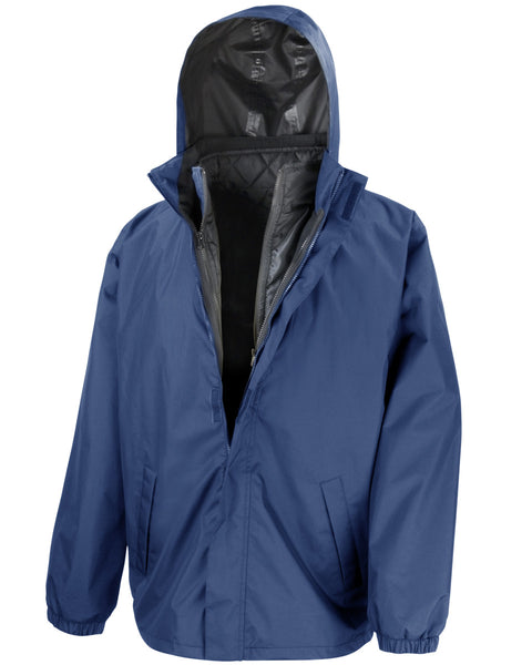 R215X Result Core 3-in-1 Jacket With Quilted Bodywarmer