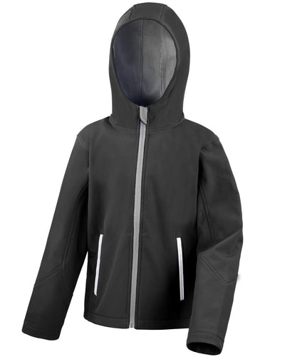 R224JY Result Core Junior TX Performance Hooded Softshell