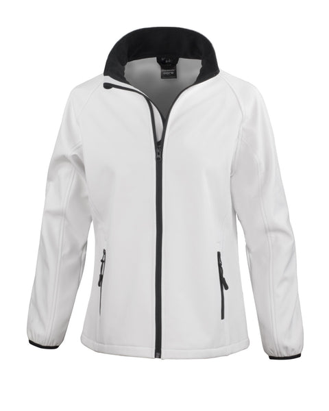 R231F Result Core Ladies' Printable Softshell Jacket