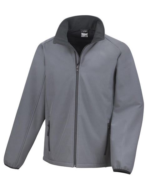 R231M Result Core Men's Printable Softshell Jacket