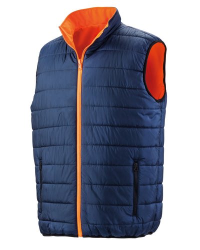 R332X Result Safeguard Reversible Soft Padded Safety Gilet