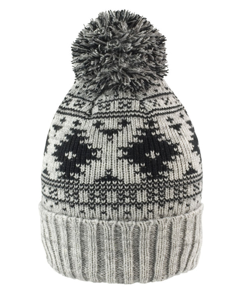 R356X Result Winter Essentials Deluxe Fair Isles Hat