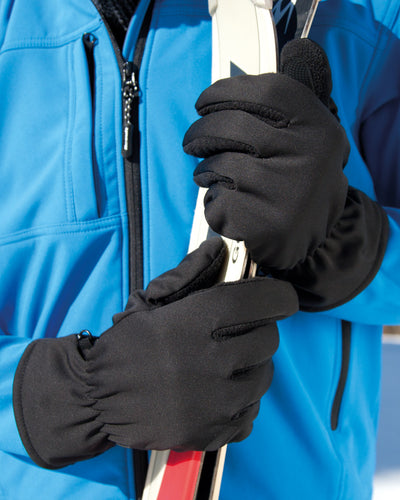 R364X Result Winter Essentials Softshell Thermal Gloves