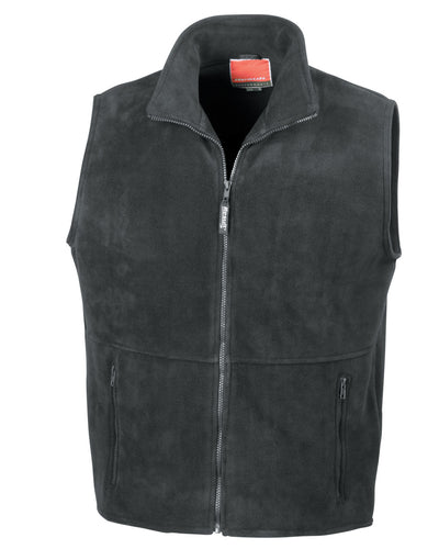 R37X Result Active Fleece Bodywarmer