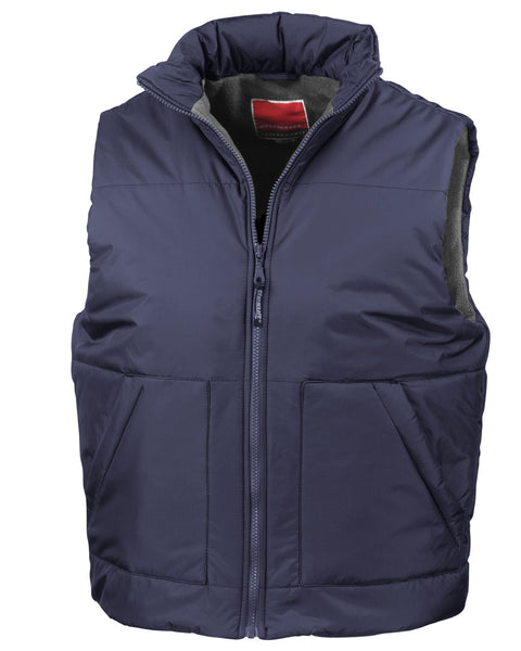 R44X Result Fleece Lined Bodywarmer