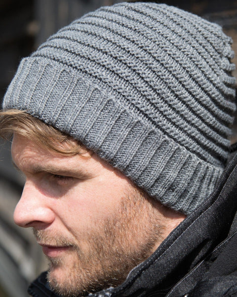 RC376X Result Winter Essentials Braided Hat