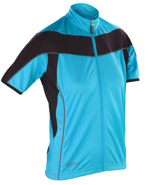 S188F Spiro Ladies' Bikewear Short Sleeve Performance Top
