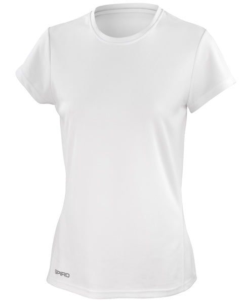 S253F Spiro Ladies' Quick Dry Short Sleeve T-Shirt