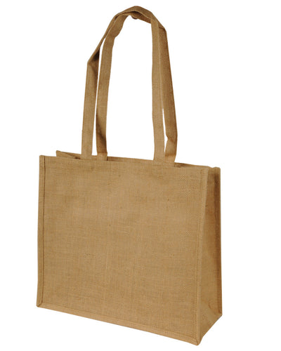 SH1105 Shugon Calcutta Long Handled Jute Shopper