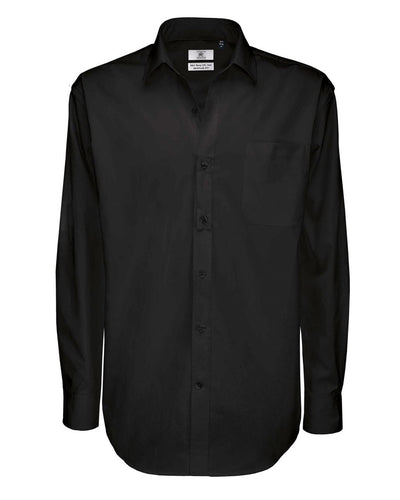 SMT81 B&C Men's Sharp Long Sleeve Twill Shirt