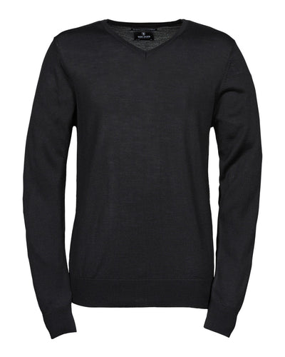 TJ6001 Tee Jays Men's V Neck Knitted Sweater