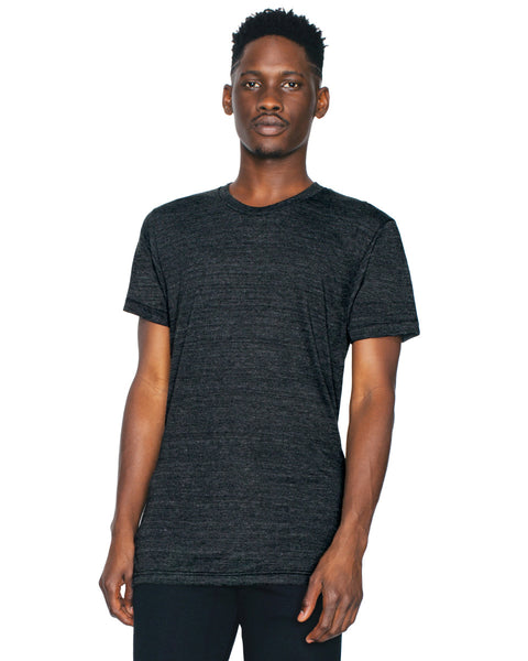 TR401W American Apparel Unisex Triblend Short Sleeve Track Tee