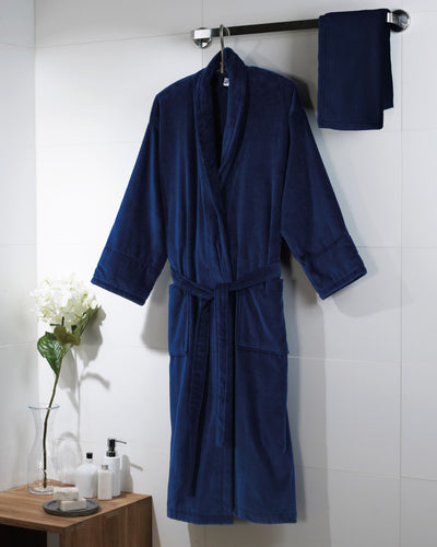 Towels By Jassz Como Velours Bath Robe