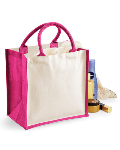 W421 Westford Mill Printers' Midi Jute bag