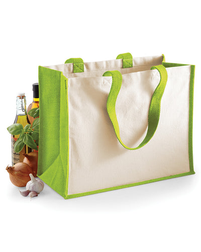 W422 Westford Mill Printers' Jute Classic Shopper